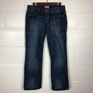 Antik Denim Boot Cut Jeans Embroidered size 30